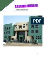Plan Distrital de Seguridad Ciudadana 2011-2014