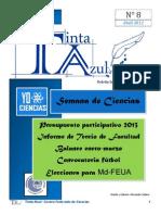 Boletín Informativo del CFC Tinta Azul N°8-Año 1