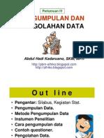 STATISTIK KESEHATAN- Slide IV - Pengumpln n Pengolhn Dt - 5 Apr 2012