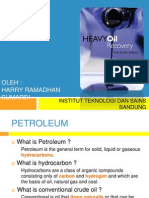 Heavy Oil the Road a Head