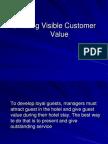 Creating Visible Customer