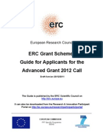 European Research Council 2012