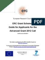 European Research Council 2012
