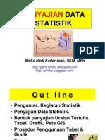 STATISTIK KESEHATAN- Slide v - Penyajian Data Statistik - 12 Apr 2012