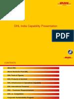 DHL India Capability 2010