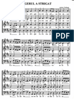 Ingerul a Strigat Partitura Cor Mixt