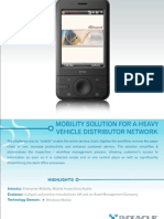 Mobility Solution for Heavy Vehicle Distributor Network
