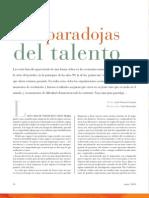 Las paradojas del talento