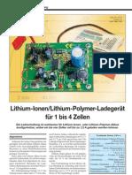Li-Ion Li-Pol Ladegerät