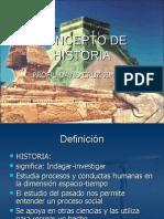 Etapas de La Historia1563
