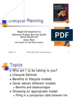 Life Cycle Planning Ppt