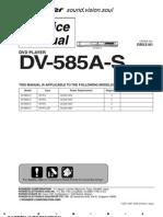 Pioneer Dv 585a s [ET]