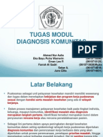 Diagnosis Komunitas
