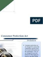 Present Scenario of Consumer Protection Act In Bangladesh