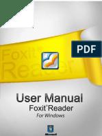 FoxitReader50 Manual