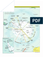 Antartic Political Map 2009