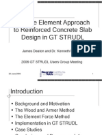 Deaton FE Slab Design