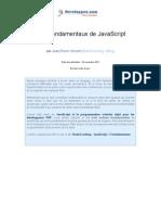 3 Fondamentaux Javascript