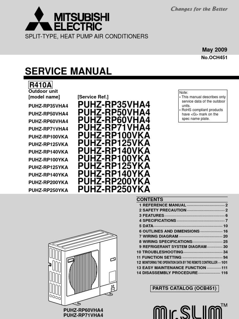 Mitsubishi Service Manual Air Conditioning Hvac Simple Speed Diagram L200 Dc Motor Control Circuit