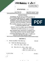 Statistics 1