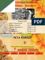Penyelesaian Konflik Indonesia - Belanda