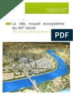 Rapport La Ville Nouvel Ecosysteme Du 21eme Siecle 27-03-12