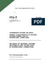 ITU T G122