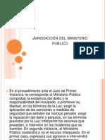 Jurisdicción del ministerio publico exposicion
