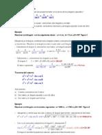 Aplicaciones de Estos Teoremas Para Calcular Distancias