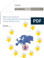 Who Lost Greece