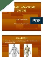 Anatomi Umum (Introduction)