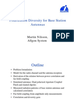 Polarization Diversity for Base Station