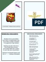 Folleto Paracas