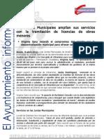 DISTRITOS Servicios Juntas Municipales