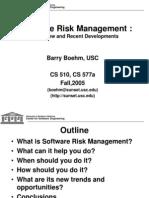 Software Risk Management_2007