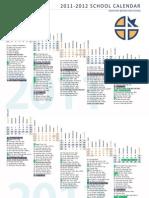 2011-2012 School Calendar Final
