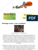 Botafogo Vence e Vai a Semfinal