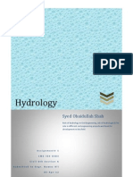 Hydrology Assignment 1