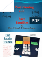 Math Partitioning Games