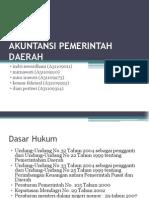 AKUNTANSI PEMERINTAH DAERAH