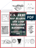 US Army Map Reading Land Navigation Handbook 2004