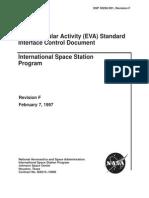 Extravehicular Activity (EVA) Standard ICD-30256.001F.eva.ICD