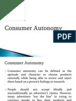 Consumer Autonomy