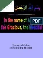 Dr. Hafeez- Immunoglobulins (Structure & Functions)