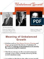 Theory of Unbalanced Growth
