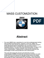 Mass Customization at BMW