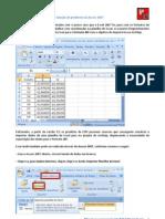 Criando DBF via Access2007