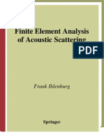 Finite Element Analysis of Acoustic Scattering