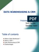 Data Warehousing & Crm Final II