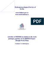 Activities of RHMSS in Relation to the WPs